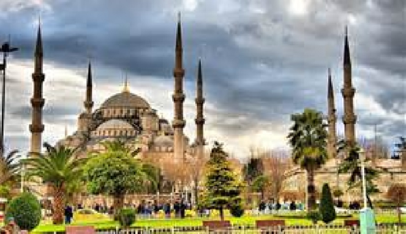 Hagia Sophia Mosque as transformed by Islamic Conquerors was once the Greatest of Cathedrals in the World Until Constantinople fell to Islamic forces