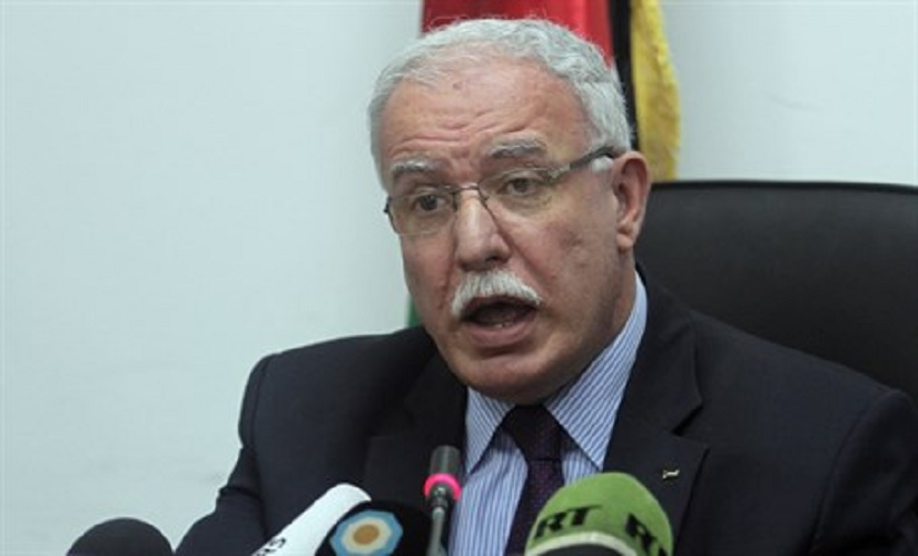 "Arab Palestinian Authority (PA) Foreign Minister Riyad al-Malki who stated recently, ""We will never go back and sit again in direct Israeli-Palestinian negotiations. If Daesh (Islamic State) take advantage of lack of any brokers... then of course, they might come and try to fill it. This is very dangerous."""
