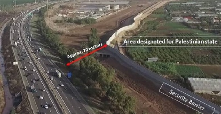 Trans-Israel Highway Route 6 (c/o Dr. Martin Sherman and Arutz Sheva)