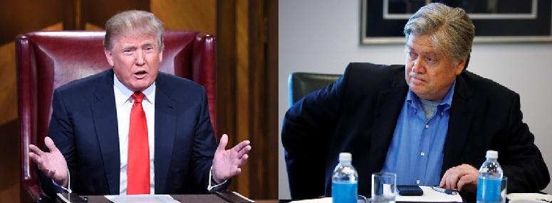 President Donald Trump Personal Advisor Steve Bannon