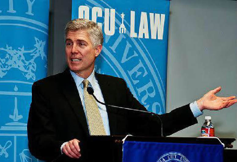 Supreme Court Justice Nominee Judge Neil Gorsuch and United States Court of Appeals for the Tenth Circuit in Denver, Colorado
