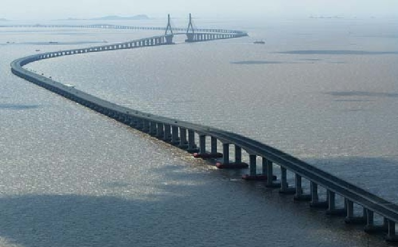 King Fahd Causeway is the bridge between Bahrain and Saudi Arabia