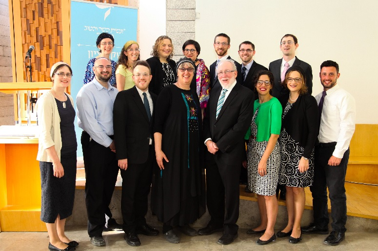 Co-ed rabbinic ordination ceremony at Yedidya with Rabbi Daniel Landes