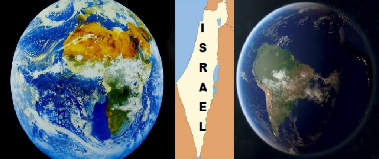 Africa and Israel and South America