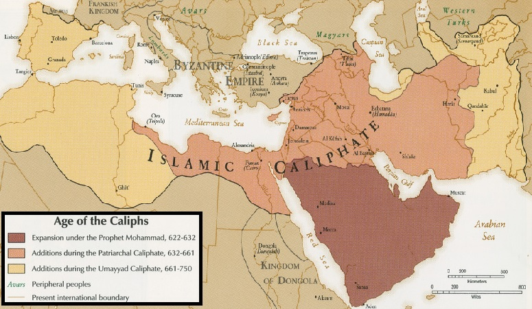 Islamic Conquests Under the Caliphs