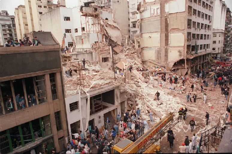 Asociación Mutual Israelita Argentina Building Bombing Aftermath