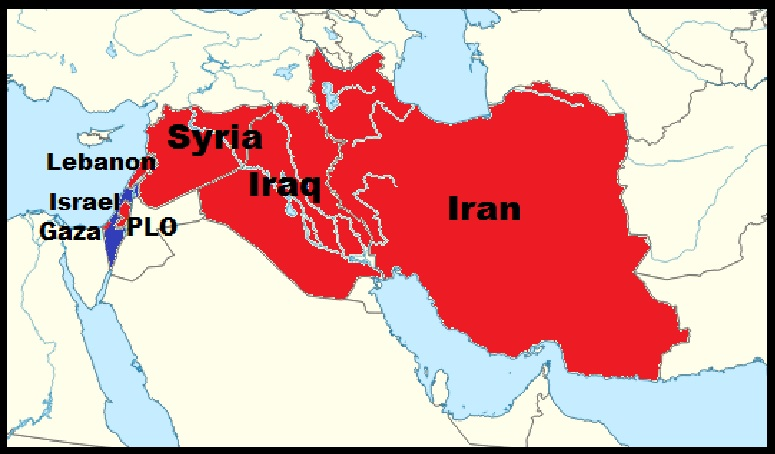 Iranian Axis Aligned Against Israel